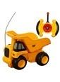 Cat Cat Dump Truck Uzaktan Kumandalı İş Makinası Renkli